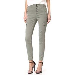 J. Brand Brigitte Sky High Utility Pants Size 24